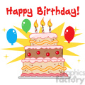 cartoon-happy-birthday-cake  gif, png, jpg, eps, svg, pdf