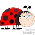 4636-Royalty-Free-RF-Copyright-Safe-Happy-Ladybug-Mascot-Cartoon-Character