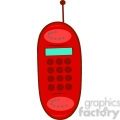 Royalty-Free-RF-Copyright-Safe-Red-Cell-Phone