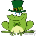 4677-royalty-free-rf-copyright-safe-happy-leprechaun-frog  gif, png, jpg, eps, svg, pdf