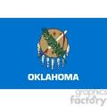vector state Flag of Oklahoma