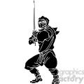 ninja clipart 029