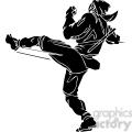 ninja clipart 045