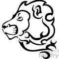 wild lion design 090