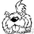 funny cartoon dogs 004  gif, png, jpg, eps, svg, pdf