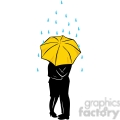 people in the rain sharing umbrella gif, png, jpg, eps, svg, pdf