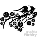 chinese swirl floral design 074  gif, png, jpg, eps, svg, pdf