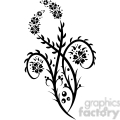 chinese swirl floral design 095  gif, png, jpg, eps, svg, pdf