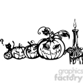 Halloween clipart illustrations 001 vector clip art image