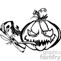 Halloween clipart illustrations 014