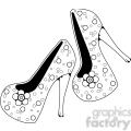 heels 6 pearlsnflowers  gif, png, jpg, svg, pdf