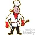 chef standing front spatula 001  gif, png, jpg, eps, svg, pdf