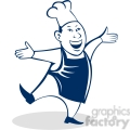happy male chef  gif, png, jpg, eps, svg, pdf