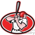 baseball player batting side on  gif, png, jpg, eps, svg, pdf