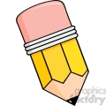 5867 Royalty Free Clip Art Cartoon Pencil