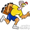 turkey runner side shirt