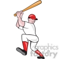 baseball batter batting up side  gif, png, jpg, eps, svg, pdf