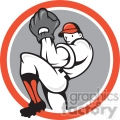 baseball pitcher front pitching  gif, png, jpg, eps, svg, pdf