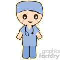 Doctor cartoon character illustration