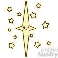 Star cartoon character illustration