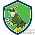 elf batting stance side front shield  gif, png, jpg, eps, svg, pdf