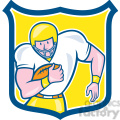 american football fullback front ol shield  gif, png, jpg, eps, svg, pdf
