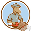 donkey concrete sawing drilling worker CIRC