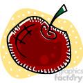 red apple png, jpg, eps, svg, pdf