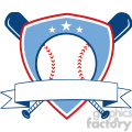 baseball shield banner design  gif, png, jpg, eps, svg, pdf