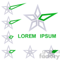 logo template star 005