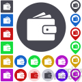 wallet icon pack