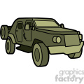 military armored scout vehicle