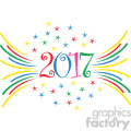 2017 new year celebration vector art  gif, png, jpg, eps, svg, pdf