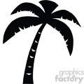 svg cartoon palm tree vector cut files silhouette cricut studio die cuts design