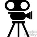 movie camera vector icon art