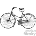 vintage bicycle vector vintage 1900 vector art GF