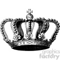 vintage king crown vector vintage 1900 vector art GF