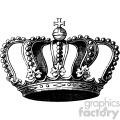 vintage king crown vector vintage 1900 vector art GF