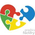autism puzzle design svg cut file