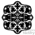 mandala geometric vector design 021