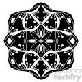 mandala geometric vector design 021