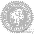 california bear logo design vector art v4