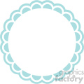 scalloped edge svg cut files 1