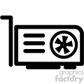 video graphics card icon