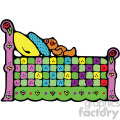 cartoon bed clipart