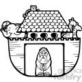 Noahs Ark black white