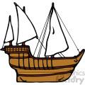 old ship cartoon image