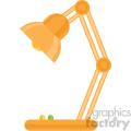 desk lamp vector flat icon