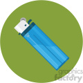 lighter flat icon clipart with circle background