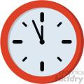 clock no background